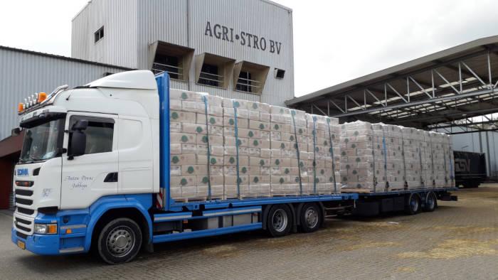 Anton Ponne transport Jubbega vrachtwagen Agri Stro